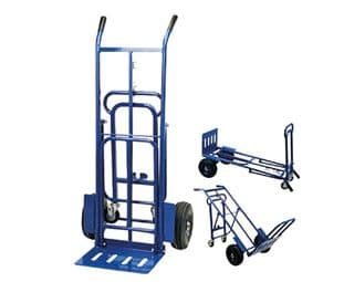 DURATOOL D03455 3-In-1 Trolley And Sack Truck